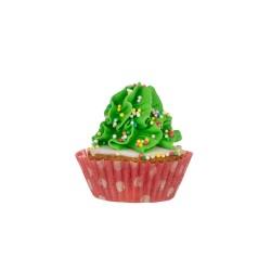 Dolcimpronte Xmas Cupcake 46 G Verde