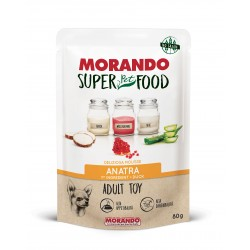 Morando SUPER FOOD Dog Adult Toy Mousse Anatra GRAIN FREE