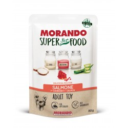 Morando SUPER FOOD Dog Adult Toy Mousse Salmone GRAIN FREE