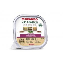 Morando SUPER FOOD Dog Adult Mini 8+ Patè Agnello GRAIN FREE