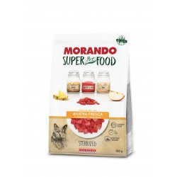 Morando SUPER FOOD Cat Sterilizzato Anatra GRAIN FREE