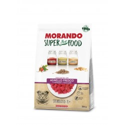 Morando SUPER FOOD Cat Sterilizzato 8+ Agnello GRAIN FREE