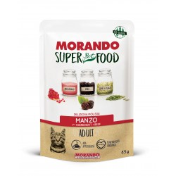 Morando SUPER FOOD Cat Adult Mousse Manzo GRAIN FREE