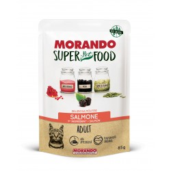 Morando SUPER FOOD Cat Adult Mousse Salmone GRAIN FREE