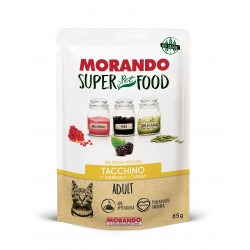 Morando SUPER FOOD Cat Adult Mousse Tacchino GRAIN FREE