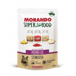 Morando SUPER FOOD Cat Sterilizzato Mousse Agnello GRAIN FREE