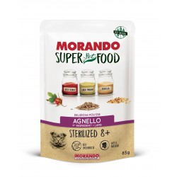 Morando SUPER FOOD Cat Sterilizzato 8+ Mousse Agnello GRAIN FREE