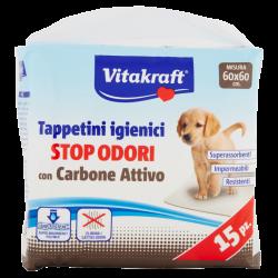 Vitakraft Tappetini Igienici con Carbone Attivo 60x60