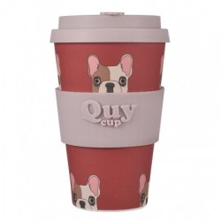 Quy Cup - Tazza Bamboo - Bulldog Francese 400ml