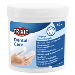 Trixie Pulizia Denti - Salviette da Dito Monouso 50pezzi