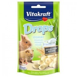 Vitakraft Drops Snack Yogurt per roditori 75g