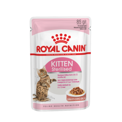 Royal Canin Cat Kitten Sterilised Gravy (in salsa) 85g