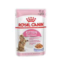 Royal Canin Cat Kitten Sterilised Jelly (in gelatina) 85g
