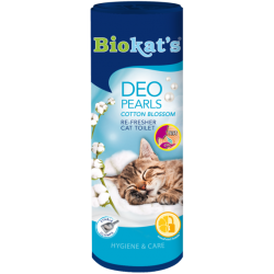 Biokat's Deo Pearls Cotton Blossom - Deodorante per Lettiera 700g