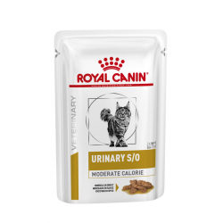 Royal Canin Vet Cat Urinary S/O Moderate Calorie Bocconcini - Buste 85g