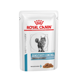 Royal Canin Vet Cat Sensitivity Control Pollo e Riso - Busta 100g