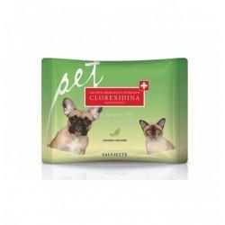 Derbe Natural Derma Pet Salviette Detergenti e Igienizzanti Clorexidina