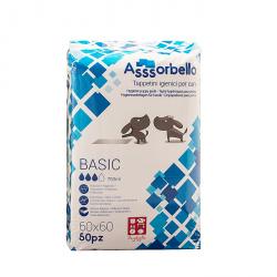 """Ferribiella Tappetini igienici """"Asssorbello"""" Basic 60x60"""