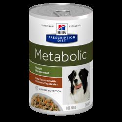 Hill's Dog Metabolic Spezzatino con Pollo e Verdure