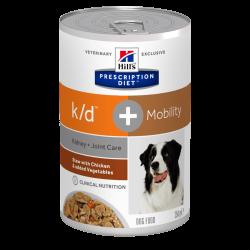 Hill's Dog k/d + Mobility Spezzatino con Pollo e Verdure