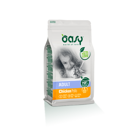 Oasy Cat Adulto Pollo 300g