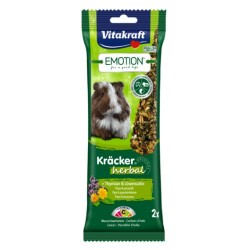 Vitakraft Emotion Kracker Porcellini d'India Herbal