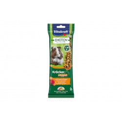 Vitakraft Emotion Kracker Porcellini d'India Veggie